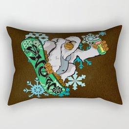 The Great Canadian Yeti Rectangular Pillow