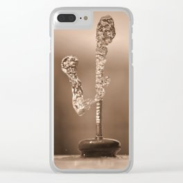 Water Art - 4 Clear iPhone Case