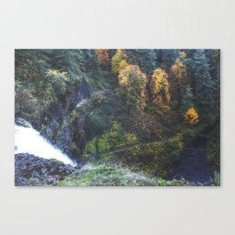 Waterfall Lookout Canvas Print