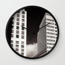 SKys Towers Wall Clock