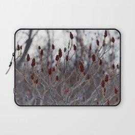 Winter Red Laptop Sleeve