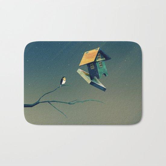 Flying Bird...house Bath Mat