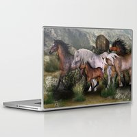 into the wild Laptop & iPad Skins featuring Wild by Illu-Pic-A.T.Art