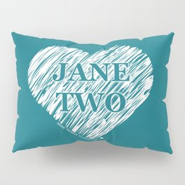 Heart Jane Two Pillow Sham
