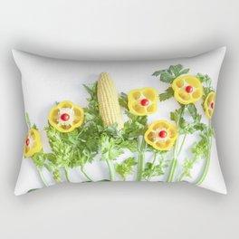 Peppers flower (35) Rectangular Pillow