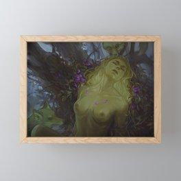 Death of a dryad Framed Mini Art Print