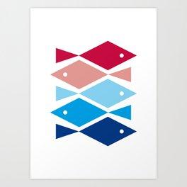PatternFish Art Print