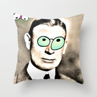 cook Throw Pillows featuring - cook - by Digital Fresto