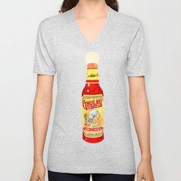 Cthulhu Hot Sauce Unisex V-Neck