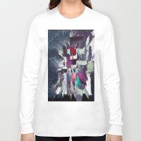 splatter Long Sleeve T-shirts featuring Splatter by MonsterBrown