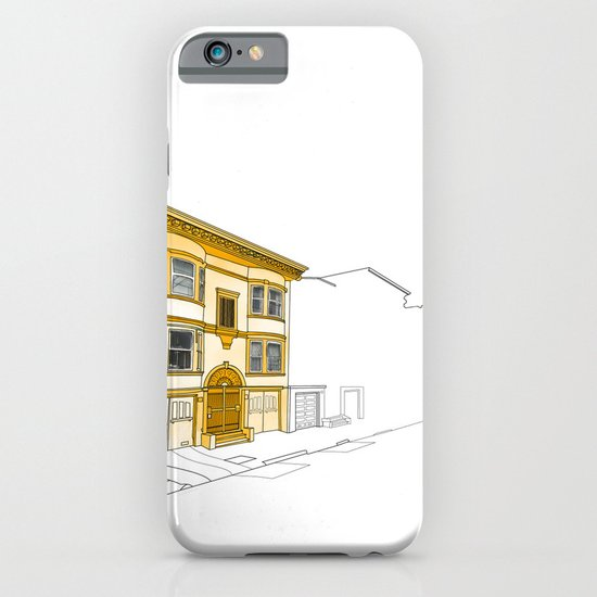 Yellow San Francisco Haus iPhone & iPod Case