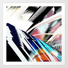 Light Archs Run Art Print