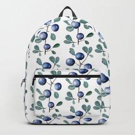 Blackthorn Blue Berries Backpack