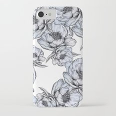 floating flowers iPhone 7 Slim Case