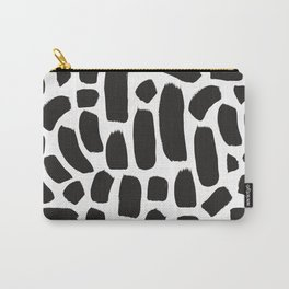 Brush strokes pattern #9 Carry-All Pouch