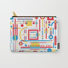 CLASH w/white Carry-All Pouch