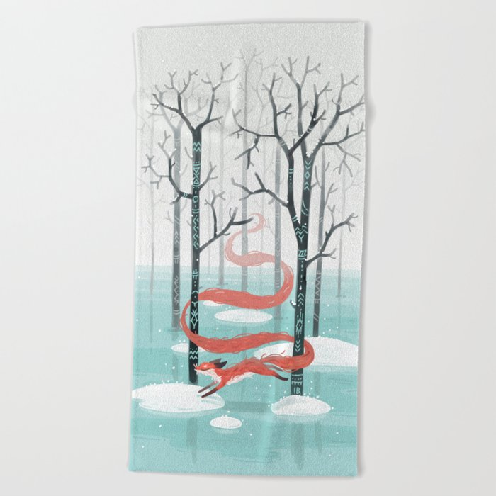 Forest Spirit Beach Towel
