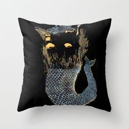 Fish City I Throw Pillow