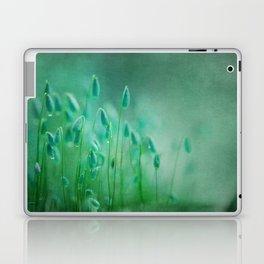 green microcosmos Laptop & iPad Skin