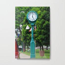 Put-in-Bay Clock II (vertical) Metal Print