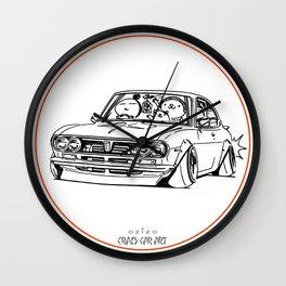 Crazy Car Art 0187 Wall Clock