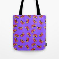 motorcycle Tote Bags featuring Motorcycle by WeKids Design