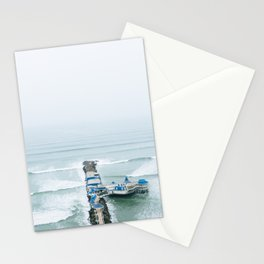 View off the Coast of Miraflores, Lima, Peru Stationery Cards
