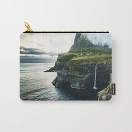 waterfall at faroe Carry-All Pouch