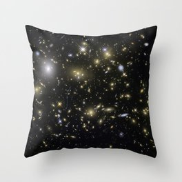 Galaxy Cluster MACSJ0717.5+3745 Throw Pillow