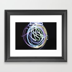 Illuminate the Paint Framed Art Print