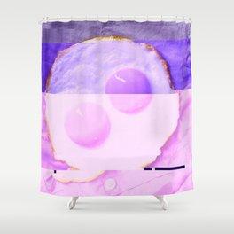 t a m a g o_m u r a s a k i Shower Curtain