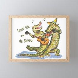 On da Bayou Framed Mini Art Print