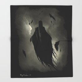 Dementors - HarryPotter | Painting Throw Blanket