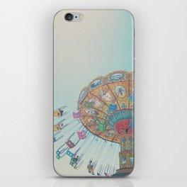 spinning around & around & around ... iPhone Skin