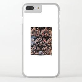 Big Opinions. No Filter. Clear iPhone Case