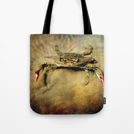 Blue Crab Tote Bag