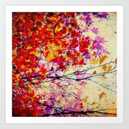 Autumn 5 Art Print