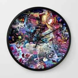 Phantodyssey Wall Clock