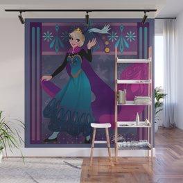 Frozen Elsa Coronation Wall Mural