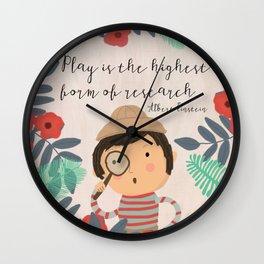 Play Einstein Wall Clock