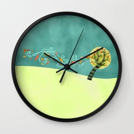Like Branches on a Tree Wall Clock