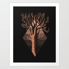 In Autumn Art Print