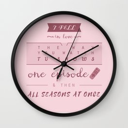 TFiOS misquote #1 (TV SHOWS) Wall Clock