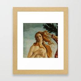"Sandro Botticelli ""The Birth of Venus"" 2. Framed Art Print"