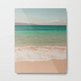 Postcard from Maui Metal Print
