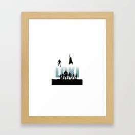 Lost/Loki Framed Art Print