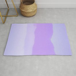 Abstract Painting - Purple Fog Rug