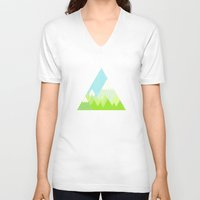 the national V-neck T-shirts featuring national park by emma method