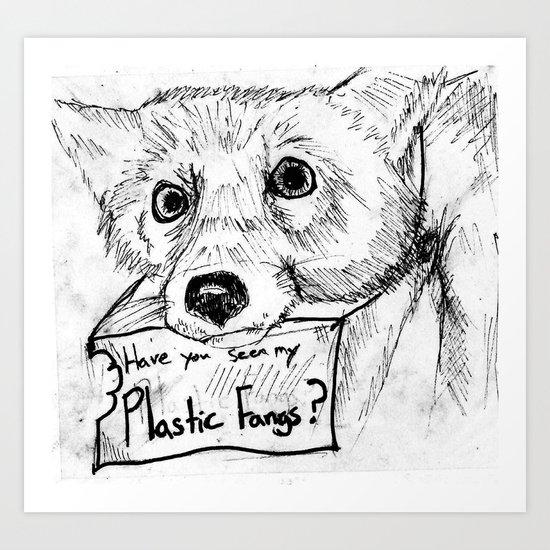 Plastic Fangs Collective Art Print