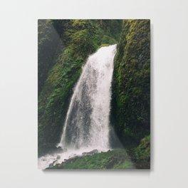 Glistening Waterfall Metal Print
